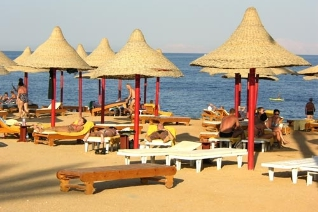 Пляж отеля Royal Paradise Resort 4* (Роял Парадайз Резорт 4*). Фото...